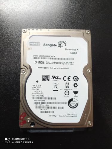 Hd 2,5 500gb Seagate Xt