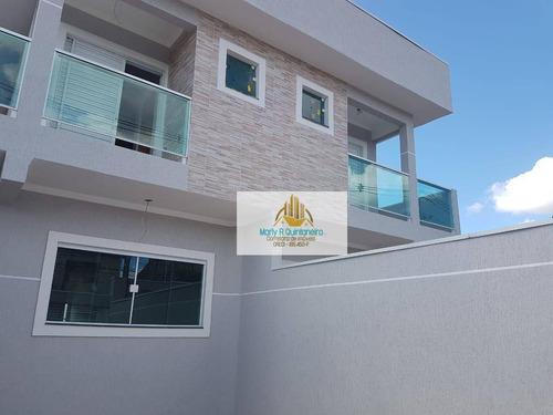 Imagem 1 de 7 de Oportunidade Lindo Sobrado Novo-o3 Dormitórios -01 Suíte- Aceita Financiamento - So0015