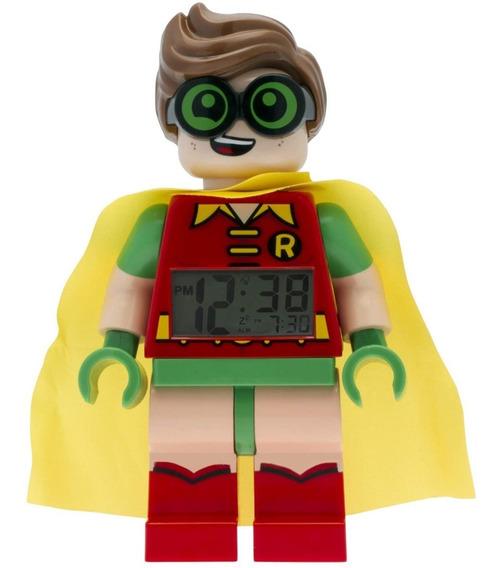 Reloj Despertador Lego Batman Movie Robin Universal