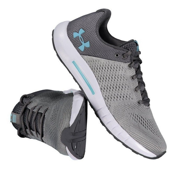 Tênis Under Armour Micro G Pursuit Sa Feminino Cinza