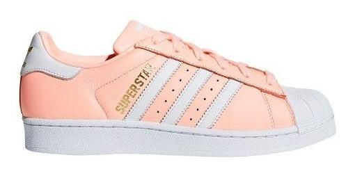 Zapatillas adidas Superstar Ros/bla De Mujer