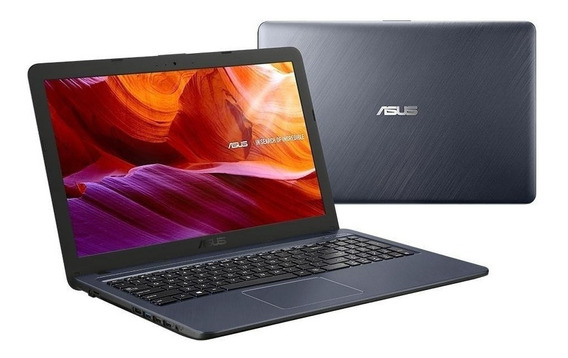 Notebook Asus X543ma-go820t 15.6 W10 4gb Ram Cinza Escuro