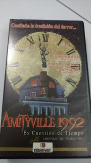 Amityville 1992 Es Cuestión De Tiempo, Vhs, Subt Español,