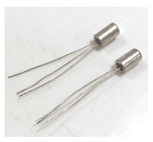 2 (par) Transistor Germânio Pnp Fuzz Face Hfe Medido - Leia