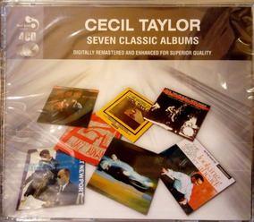 Box 4 Cd Cecil Taylor Real Gone Jazz Seven Classic Albums