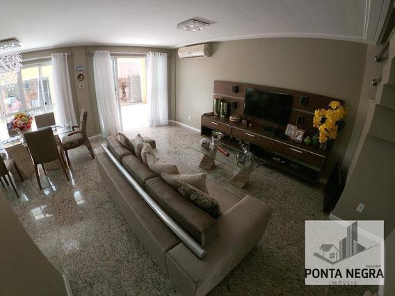 Casa Com 4 Dormitórios À Venda, 198 M² Por R$ 850.000 - Ponta Negra - Manaus/am - Ca0087