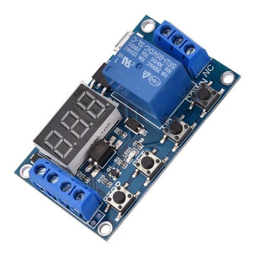 Timer Relay Programable Automático 4 Programas 12v -220v 10a