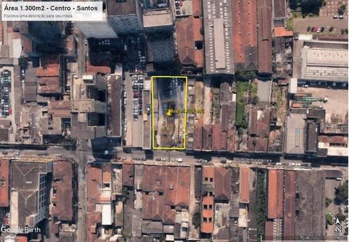 Terreno  Localizado(a) No Bairro Centro Em Santos / Santos  - 5778