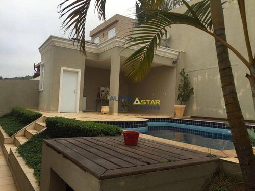 Imagem 1 de 20 de Casa Com 4 Dormitórios À Venda, 463 M² Por R$ 2.200.000,00 - Gênesis 1 - Santana De Parnaíba/sp - Ca3563