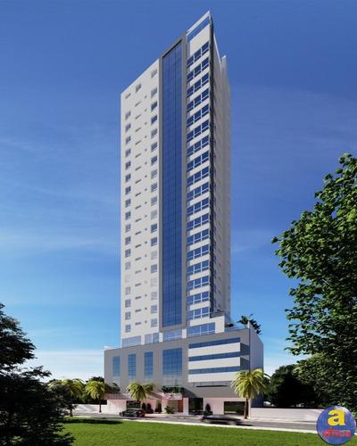 Imagem 1 de 4 de Apartamento 4 Suítes 3 Vagas De Garagem No Centro Em Balneário Camboriú/sc - Imobiliária África - Ap00526 - 69810617