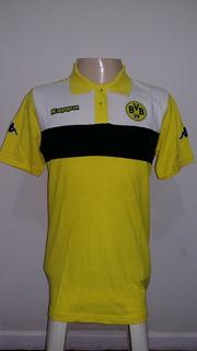 Polo Do Borussia Dortmund - Tecido Grosso Padrão Alemão