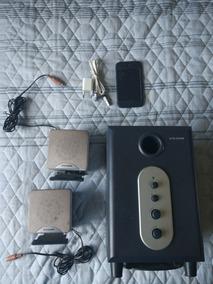 iPod Touch 4a Geração 64gb Trincado Com Subwoofer Usado