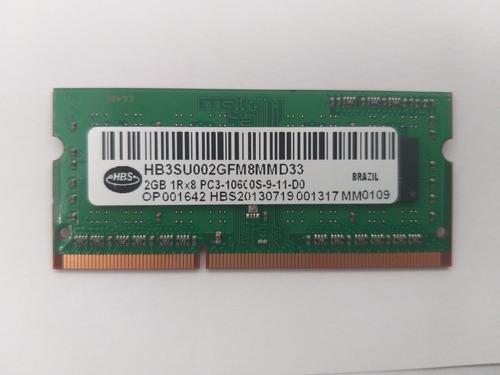 Memoria Ram 2gb Notebook Ne56r Original Hb3su002gfm8mmd33