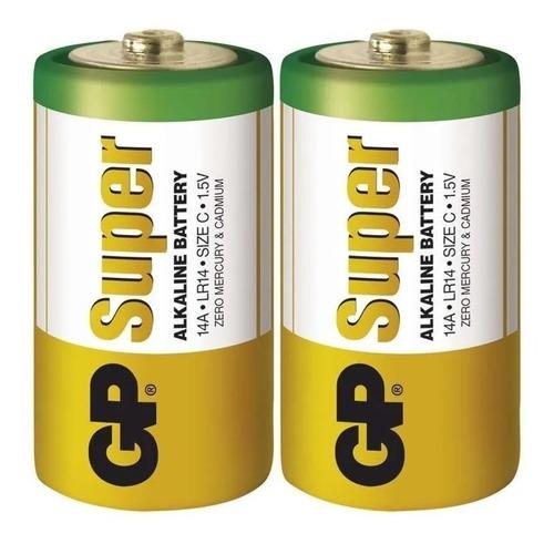 Pila Bateria Super Alcalina Tipo C 1.5v Lr-14