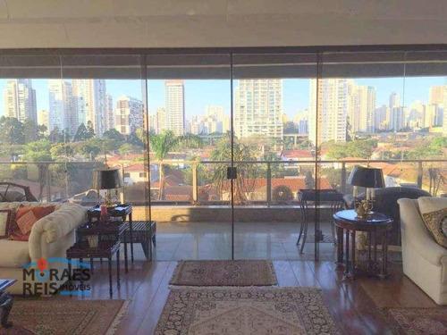 Apartamento À Venda, 330 M² Por R$ 2.390.000,00 - Brooklin - São Paulo/sp - Ap16172