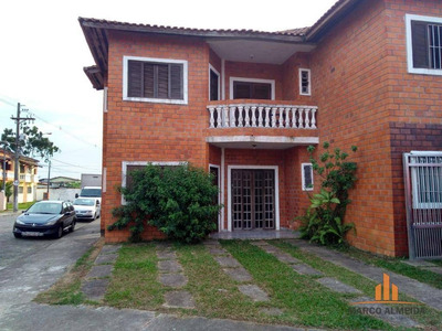 Casa Com 2 Dormitórios À Venda, 56 M² Por R$ 242.200 - Jardim Belas Artes - Itanhaém/sp - Ca0219