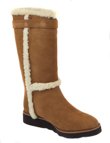 Botas Coach Belmont New York Suede Saddle Mujer No. 34a01566