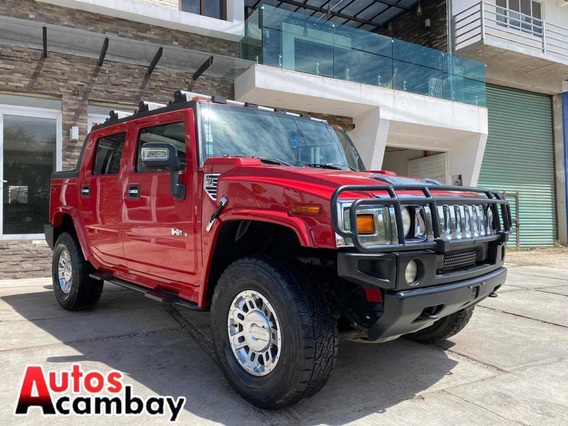 Hummer H2 6.2 Ee Qc Piel Pickup Adventure 4x4 At 2007