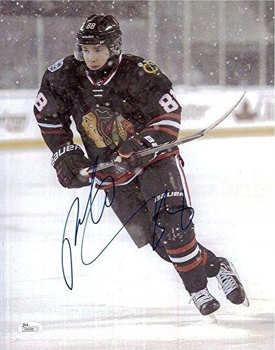 Patrick Kane Autografiado Chicago Blackhawks 11x14 Fotografí