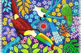 Canga De Praia Natureza Aves