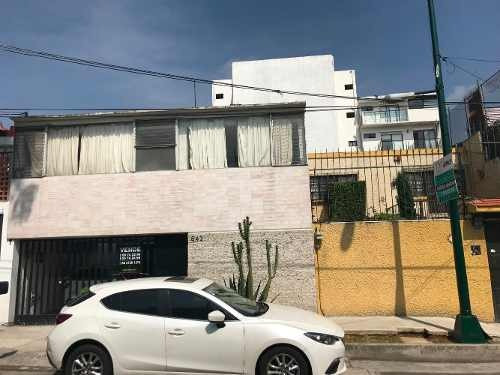 Casa En Venta, Narvarte, Letran Valle, Tajin