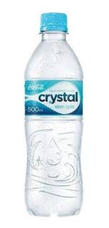 Kit C/ 20 Água Mineral Sem Gás Crystal 500ml