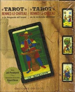 Tarot De Rennes Le Chateau - Cartas + Libro - Obelisco