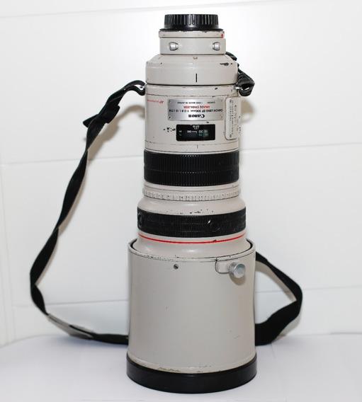 Lente Canon 300mm F/2.8 Is Usm Com Estabilizador