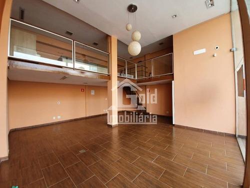 Salão Para Alugar, 60 M² Por R$ 3.500/mês - Jardim Irajá - Ribeirão Preto/sp - Sl0239