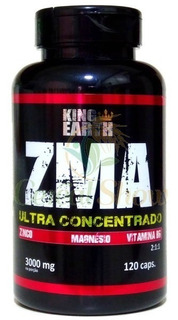 Vitamina Zma Muscular Zinco Testo 120 Cápsulas 3000mg