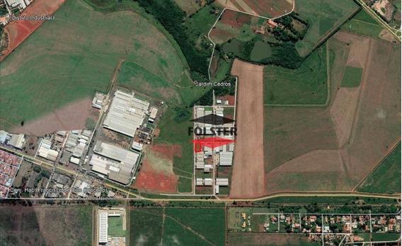 Terreno À Venda, 1332 M² Por R$ 670.000 - Parque Industrial Bandeirantes - Santa Bárbara D