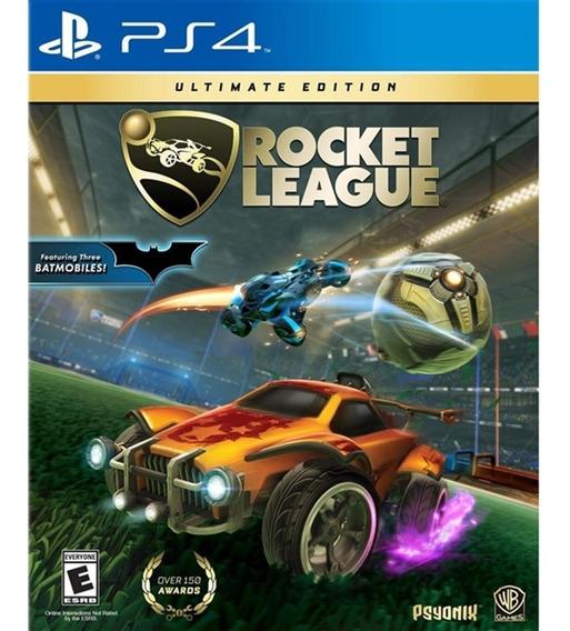 Rocket League Ultimate Edition - Ps4 Lacrado