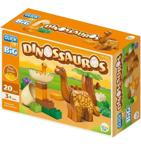 Bloco De Montar Big Cis Dinossauros