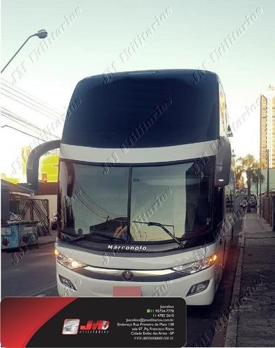 Paradiso 1800 Dd G7 Ano 2011 Scania K380 Jm Cod.1358