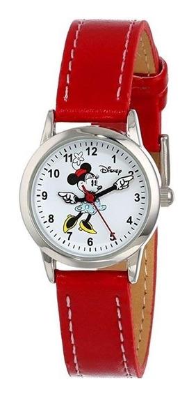 Hermoso Reloj De Minnie Mouse Original Amor Pupito