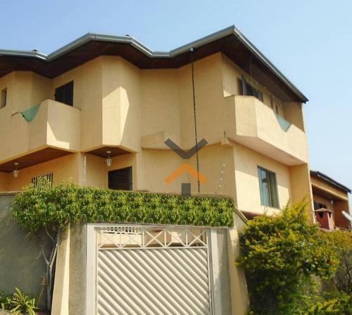 Sobrado Com 3 Dormitórios À Venda, 136 M² Por R$ 500.000 - Jardim Las Vegas - Santo André/sp - So0042