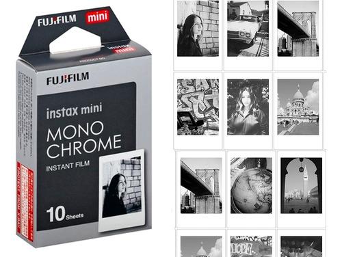 Imagem 1 de 6 de Filme Instax Preto E Branco Monochrome Mini 11 9etc Envio Hj