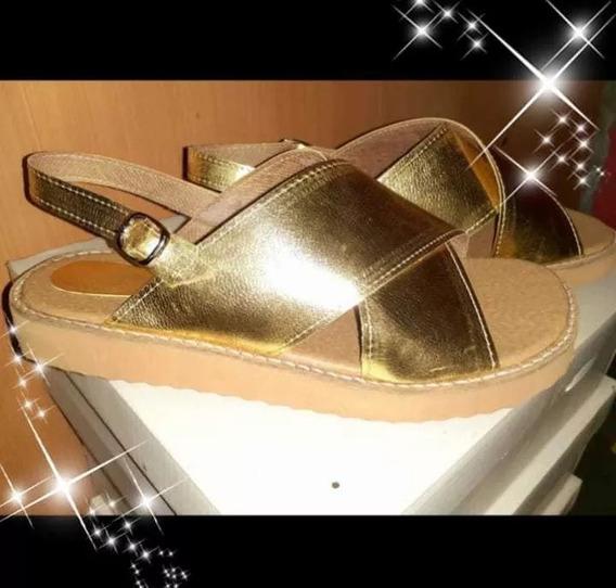 Zapatos Sandalias Mujer Cruzadas Fajita Ultraliviana 41 Y 42