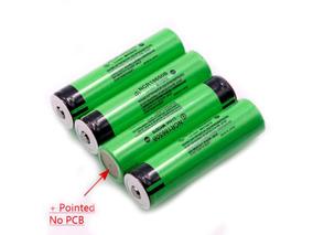 Bateria Novo Genuíno Original Panasonic Ncr18650b Com Pontas