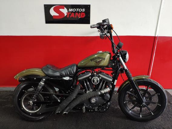 Harley Davidson Sportster Xl 883 N Iron Abs 2017 Verde