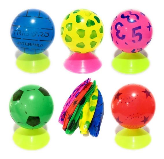 10 Pelotas Del 8.5 Desinfladas Colores Variados