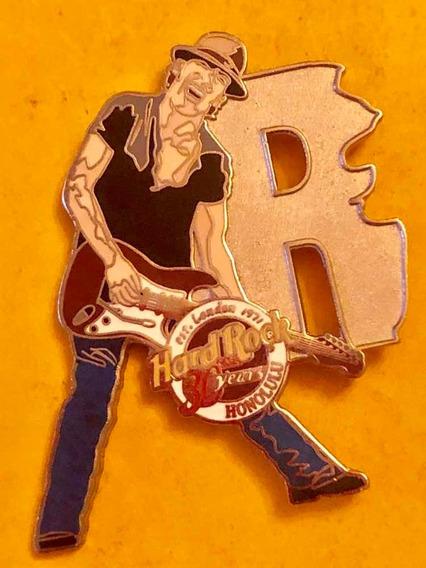 Pin Especial Rockero Hard Rock Café Honolulu + 1
