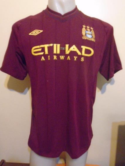 Camiseta Manchester City Inglaterra 2012 2013 Tevez #32 Boca