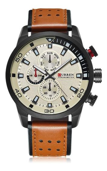 Relógio Curren 8250 Masculino Esportivo Promoção