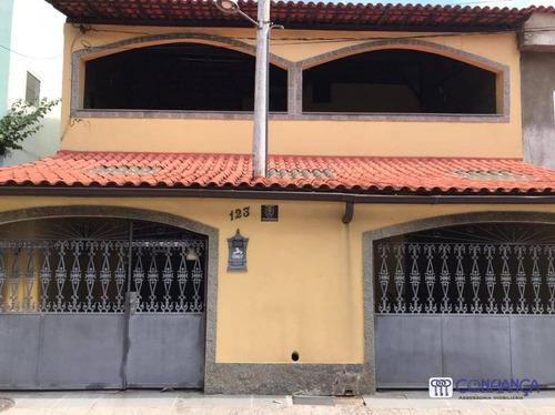 Imagem 1 de 30 de Casa Com 3 Dormitórios À Venda, 195 M² Por R$ 495.000,00 - Campo Grande - Rio De Janeiro/rj - Ca1866