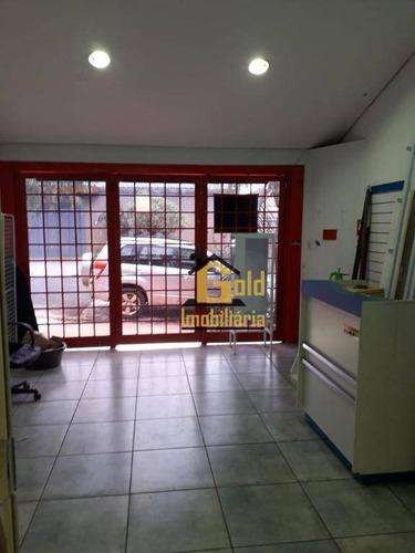 Casa 3 Dormitórios 124m² Para Venda R$ 296.800,00 - Jardim Palmares - Ribeirão Preto - Ca0618