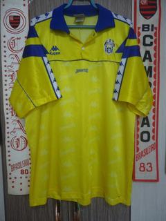Camisa Juventus ( Itália / Amarela / Kappa )