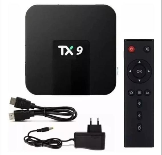 Conversor Smart Tv Box Tx9, Lançamento, Sua Tv Smart Agora