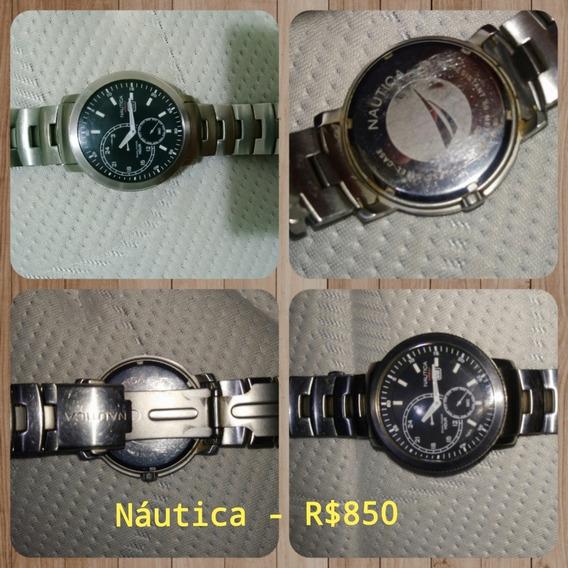 Relógio Náutica (promoção Urgente)