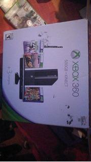 Xbox 360 Slim De 500gb Modelo E, Incluyo Accesorios Y Envio.